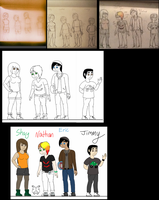 Concept to completion:Transformer Rebellion humans by fuzzball17