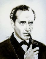 Basil Rathbone by RamonaQ