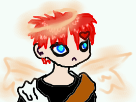 Gaara The Sand Angel by MewCocoa