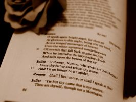 Wherefore art thou Romeo? - Book Lines 4 by elphabaevitaeponine