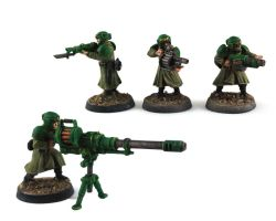 Imperial Guard Greatcoat Infantry 2 by GeneralCambronne