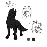 Character sheet - Hitori by PatheticCreature