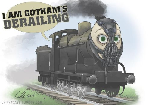 Comm: The Bane Train by SupaCrikeyDave