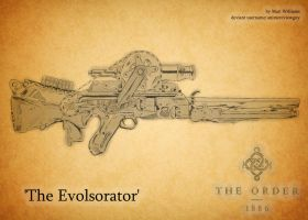 The Evolsorator Gun: The Order 1886 Contest by animereviewguy