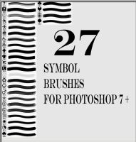 27 symbole brushes by Saysamia-stock