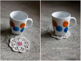 Espresso cup coaster by annamnt