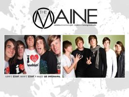 The Maine Wallpaper by cutielou