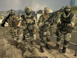 Delta Force Group Photo by MarineACU