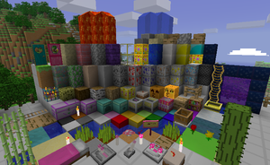 Minecraft texture pack MLP by TwitchyTail