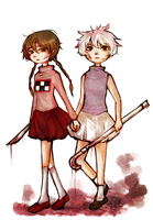 Yume Nikki / .Flow: Dream Girls by gomimushi