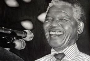 Nelson Mandela by donchild