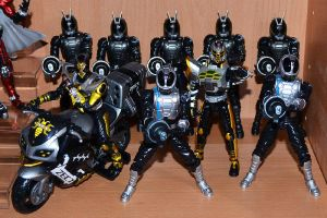 Kamen Rider TheBee and ZECTroopers by ZaEmpera