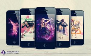 iPhone 4 Girls Wallpapers by DigitalDean