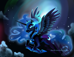 Nightmare Moon by PhuiJL