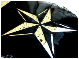 Nautical Star Stencil by R3ds0Ld13r