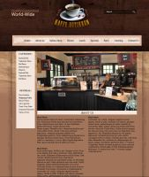 CoffeeShop - Info Page by 5p34k