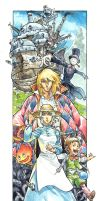 Howl's Moving Castle - Colors by ElectroCereal