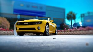 2010 Camaro by theCrow65
