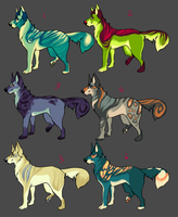 POINT ADOPTABLES! by Rinermai