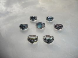 Vongola Rings by hk-1440