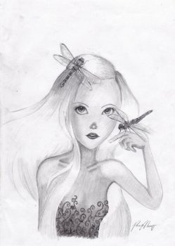 Dragonfly girl by pathetickid04