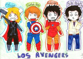 The Avengers by ShadowDark50