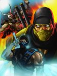 Mortal Kombat DA by DarkSamurai-7
