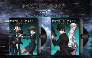 Psycho Pass DVD Folder Icons by Omegas82128