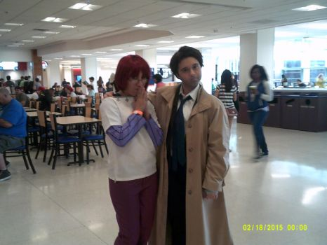 Castiel Meets One Of The Sins... by New-CosplayGirl