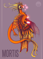 + Commission: Mortis by moxiv