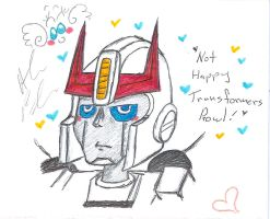 Transformers Unhappy Prowl by Kittychan2005