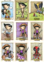 Wolverine Origins card art 2 by katiecandraw