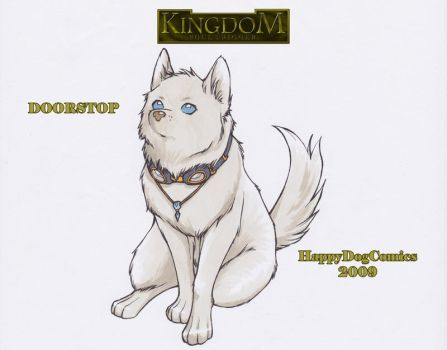 Kingdom Promo Poster--DOORSTOP by HappyDogComics