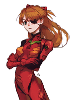 asuka by genicecream