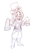 quick sketch Jervis tetch new sweater by pink-ninja