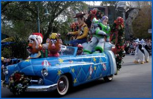 MGM Christmas ParadeToyStory 2 by WDWParksGal