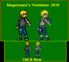 2D Sprites over time. by mugenmarv