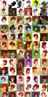 Vics: evolution. by Moony-moo