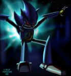 Mecha Sonic Collab by NetRaptor