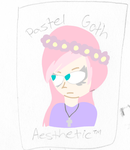 pastel goth aesthetic by Queen-Of-Purple