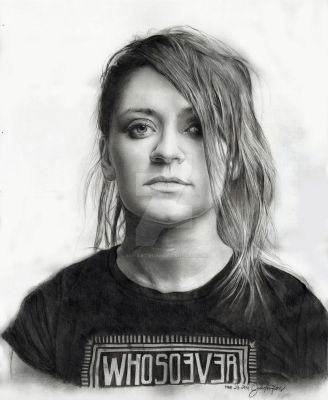Lacey Sturm (Former vocalist of Flyleaf) by JAF-Artwork