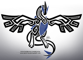 Tribal Lugia by Seoxys6