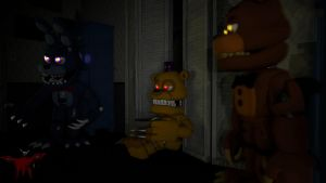 [FNaF WD SFM] The Nightmares - 4K by MrDudeooo