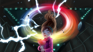 Gravity Falls: -SPOILERS- Look into my eyes, Mabel by Morisaurus