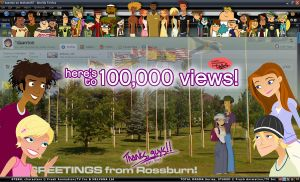 DAA 100,000 VIEWS Milestone by daanton