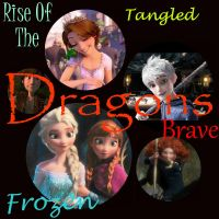 Rise Of The Brave Frozen Tangled Dragons by ShamanGirl1
