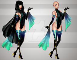 (closed) BUY NOW - Villain Outfit Adopt by CherrysDesigns