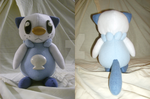 Oshawott Plush by xxtemporaryinsanity