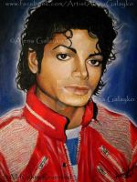 BEAT IT - MICHAEL JACKSON by AlenaGalayko