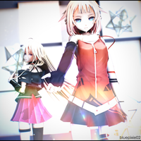 [MMD] .: Take My Hand :. by bluepixie02